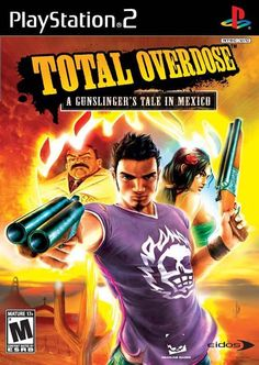 Total Overdose A Gunslinger's Tale in Mexico (Sony PlayStation 2, 2005) Complete