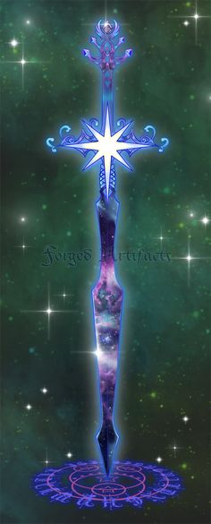 Weapon Adoption 14 Nebula Sword CLOSED by Forged-Artifacts.deviantart.com on @DeviantArt