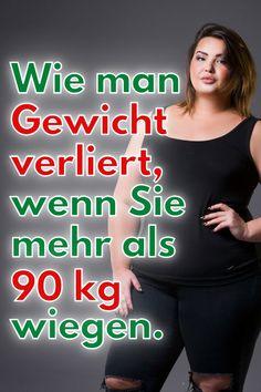 Ich fordere Sie auf, schnell Gewicht zu verlieren