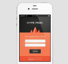Sample flat, clean login page and 14 other gorgeous mobile UI designs | TNW News
