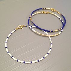 Nautical Bracelet Summer Bracelet white blue Beach Wedding jewelry - Nautical Bracelet Delicate Summer Bracelet This listing is for one beaded gold fill Bracelet. Summer Bracelets, Simple Bracelets, Stackable Bracelets, Layered Bracelets, Jewelry Bracelets, Colorful Bracelets, Sister Bracelet, Sister Jewelry, Bracelet Friendship