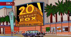 Os Simpsons acertaram outra vez. Algo que tem acontecido regularmente nos últimos tempos, com a eleição de Donald Trump, o aparecimento do vírus ébola ou o escândalo dos Panama Papers. Desta vez, a previsão remonta a 1998, quando a série previu que a 20th Century Fox iria pertencer à Disney.... http://sicnoticias.sapo.pt/cultura/2017-12-14-Os-Simpsons-ja-sabiam-em-1998-que-a-Fox-iria-pertencer-a-Disney