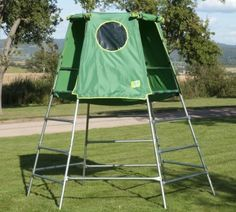 Explorer Frame, Platform & Den - the climbing frame that grows with your child. It can be built at 2 levels