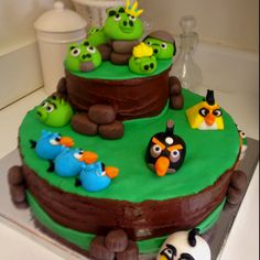 @angrybirds cake