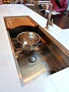 46 best cool kitchen sinks images rh pinterest com