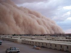 "Dust storm~~ Help save this planet! Please like this ""OUR DYING WORLD"" page & help spread the word! https://www.facebook.com/pages/OUR-DYING-WORLD/246376638844906?ref=hl"