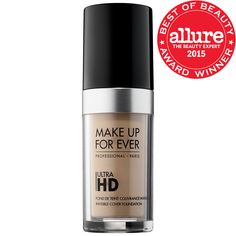 What it is: A bestselling HD foundation with an ultra-lightweight texture that provides ultra flawless skin.  What it does:  Developed specifically for the film and TV industry's most advanced technology, Ultra HD Liquid Foundation creates a natu