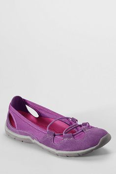 Women s everyday bungee ballet shoes from lands end