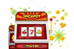 Slot Machine Web by robuart on @creativemarket