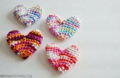 corazones para rellenar