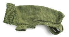 Free pattern....Morehouse Merino Original Dog Sweater Pattern w/ sizing chart.