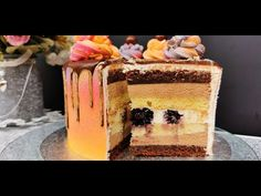Tort Noisette - un deliciu fin și elegant | Pasiune & Savoare - YouTube Something Sweet, Tiramisu, Sweets, Cake, Ethnic Recipes, Desserts, Food, Youtube, White Chocolate Ganache