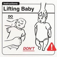 baby lifting-dos & donts