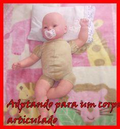 Como fazer um bebê reborn : articulações (parte5)