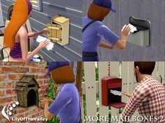 LilyOfTheValley's More Mailboxes 2