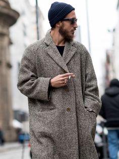 fashion # fashion for men # mode homme # men's wear - Men's style Fashion Mode, Look Fashion, Mens Fashion, Street Fashion, Stylish Men, Men Casual, Herringbone Coat, La Mode Masculine, Classy Men