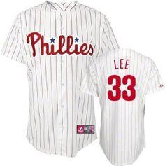 Cliff Lee Philadelphia Phillies Majestic Pinstripe MLB Replica Jersey --- http://www.pinterest.com.yolo.bz/4aw