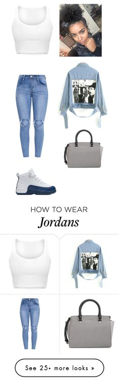 """""""Friday"""" by mayawhite04 on Polyvore featuring NIKE and MICHAEL Michael Kors"""