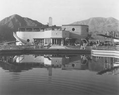 La Quinta's Desert Club was a beautiful art deco building designed by architect S. Charles Lee in 1937 (Photo courtesy La Quinta Museum)