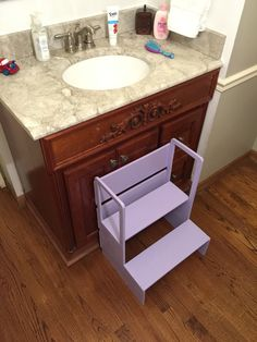 Bathroom Buddy Childu0027s Step Stool Stand | Children S, Stools And Sink Top