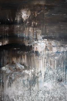 o.T 2012/01 | Acryl auf Leinwand 50 x 70 | www.sascha-dettbarn.de