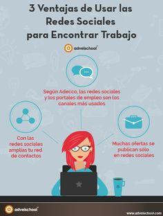 3 Ventajas de Usar las Redes Sociales para Encontrar Trabajo