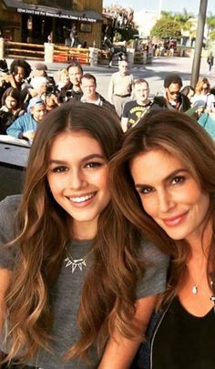 Cindy Crawford and daughter Kaia Gerber