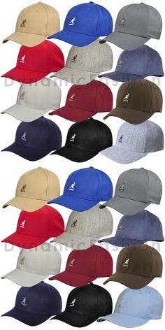 8c5548a9 Hats 52365: 100% Authentic Kangol Wool Blend Flexfit Baseball Cap Hat  8650Bc S M L Xl