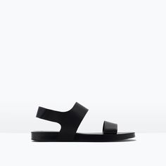 Image 1 of DRESSY LEATHER SANDALS from Zara