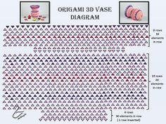 110 best 3d origami images on pinterest in 2018 origami diagrams jak zrobi wazon na kwiaty origami origami flower vase tutorial mightylinksfo