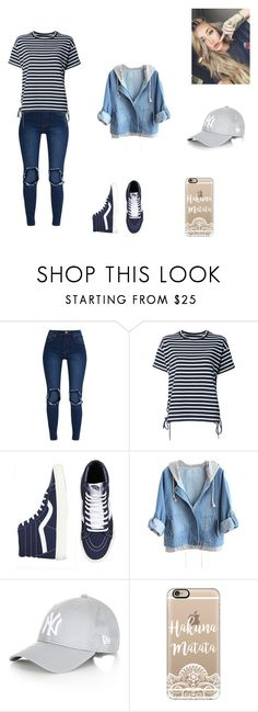 """a lazy summer day #1"" by kayltjevds05 ❤ liked on Polyvore featuring Sacai, Topshop and Casetify"