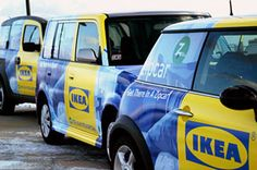 love these little ikea cars