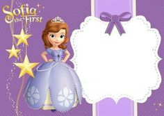 Invite Sofia The First Party In 2019 Sofia Party Birthday