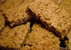 Homemade apple and cinnamon flapjacks (Graze clone)   Finding this recipe has seriously made my day. These are ADDICTING -- can't wait to make them! -- jacqui