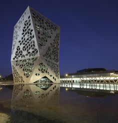 Concrete lace | Civic Center of the Bicentenary in Cordoba, Argentina by Lucio Morini + GGMPU Arquitectos