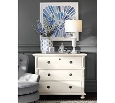 Jolie Mother-of-Pearl Table Lamp Base | Pottery Barn
