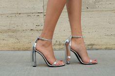 Alexander Wang Fabiana Metallic Sandals