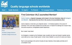 We have some huge news! Centro Catalina has become the very first language school in #Colombia to be accredited by IALC!  The International Association of Language Centres is a global network of accredited independent language schools teaching the official #language of their country, and guarantees an outstanding language training and service in all its centers.