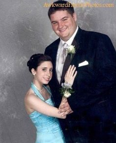 LOL! This reminds me of my junior prom date. Seriously!