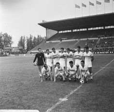 Hungary lineup to face Sparta Rotterdam (2-0), 6 July 1966