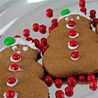 Nothing says the holiday season like a gingerbread cookie!