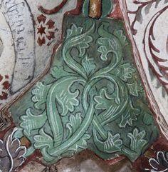 Ornamentik - Odensala kyrka