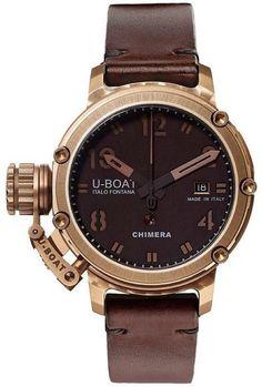 U-Boat Watch Chimera 43 Bronze Limited Edition #bezel-fixed…