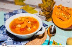 Pumpkin stew. Yummy.  #pumpkin #stew #recipe #fall #autumn #Kürbis #Eintopf #Rezept #Herbst #herzhaft #food #foodblog