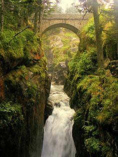 Cauterets - Pont d'Espagne - Haute-Pyrénées dept - Midi-Pyrenees, France