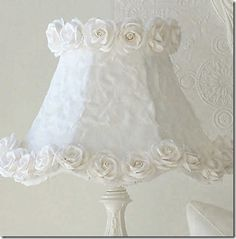 Rose Petal Lampshade How-To