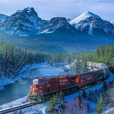 The Canadian Pacific Railway. Photography by @mitalpatelphoto