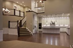In love with the open floor plan! It's very similar to Smart Choice Communities' Syracuse and Madison II floor plans.