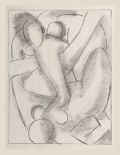 Calypso (one of six etchings illustrating James Joyce's Ulysses) 1935, Henri Matisse (SFMOMA)