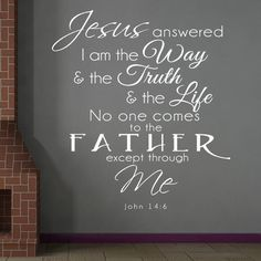 Nuovo Creations features a wide variety of Christian Scripture Bible Verses Wall Decals. Our vinyl decal quotes can inspire and encourage you, why not put it somewhere where you will see it daily, and Scripture Verses, Bible Verses Quotes, Bible Scriptures, Godly Quotes, Jesus Quotes, Christian Wall Decals, Wall Quotes, Wall Sayings, Quotes Quotes